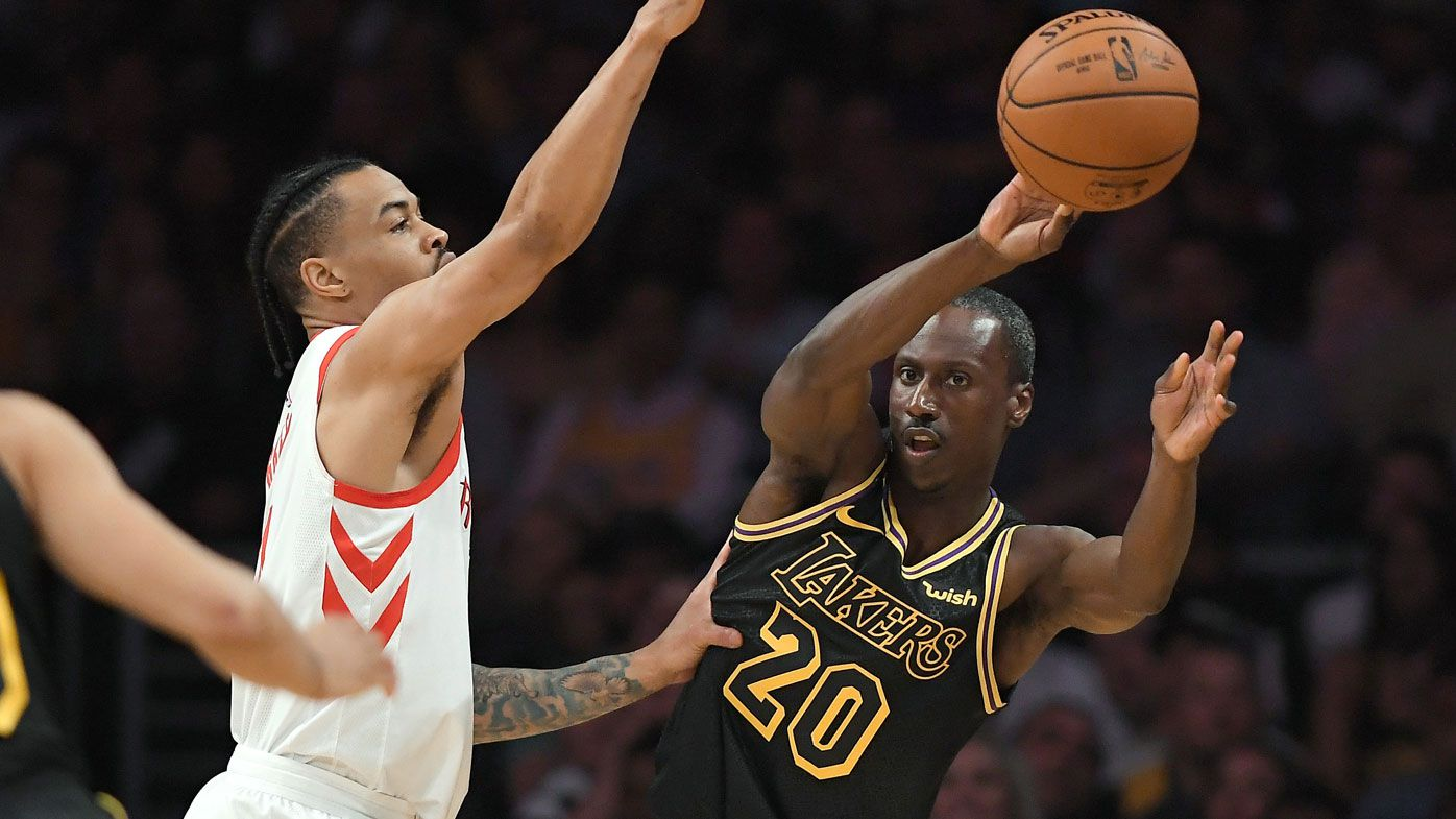 Andre Ingram proves age is no barrier after making NBA debut for LA Lakers at age 32