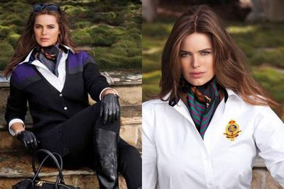 She continues to kick high-fash goals... chosen as designer Ralph Lauren's first ever plus-size model!
