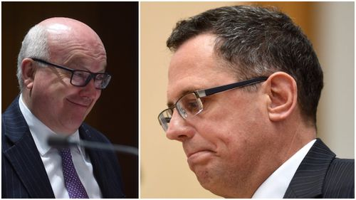 Justin Gleeson resigned as Solicitor-General over the public spat with Attorney-General George Brandis. (AAP)