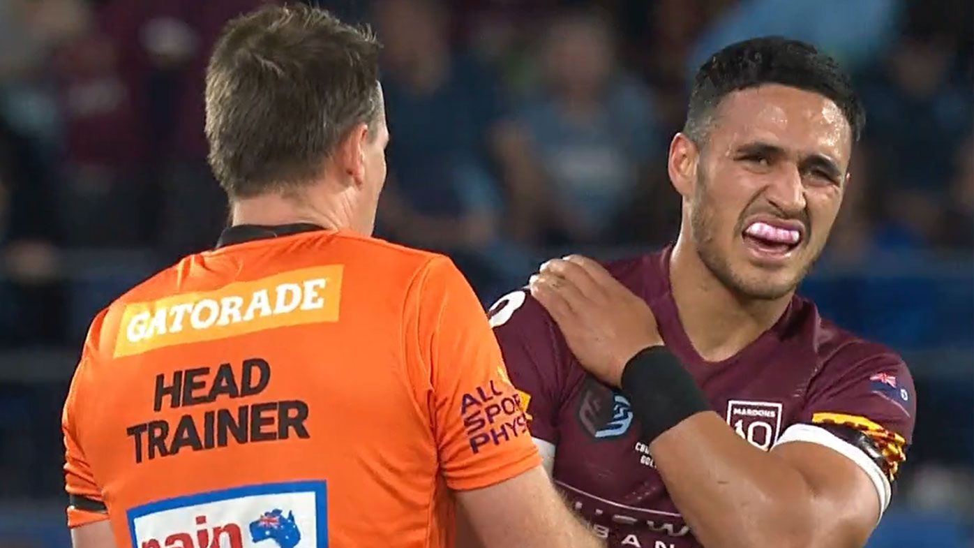 'Concern' for Valentine Holmes after suffering AC joint injury in right shoulder