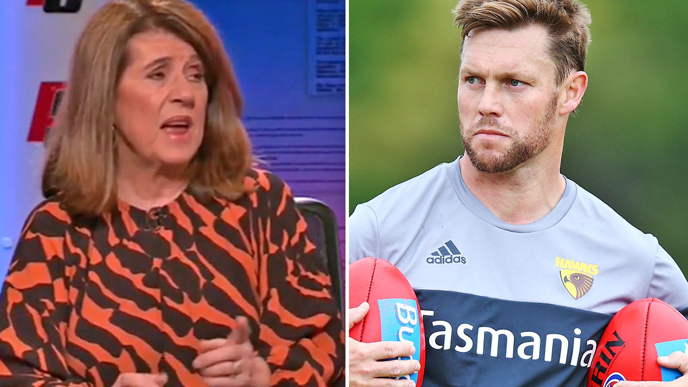 Caroline Wilson defended her reporting after a backlash from Sam Mitchell