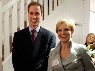 Julia Samuel and Prince William in 2009.