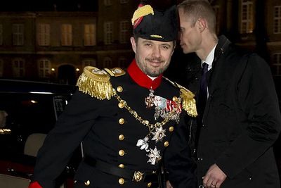 <b>Does Frederik have a brother?</b><br/><br/><b>Kingdom:</b> Denmark<br/><br/>That's right ladies, Prince Frederik has a younger brother! Unfortunately this one is taken, too.<br/><br/><b>Best known for:</b> Being married twice. That's pretty scandalous among the royals still. His first marriage to Alexandra Christina Manley ended after ten years. In 2008 Joachim married Marie Agathe Odile Cavallier, from France.<br/>