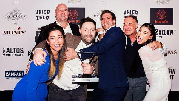 The Baxter Inn win Bar of the Year at the 2017 Australian Bar Awards