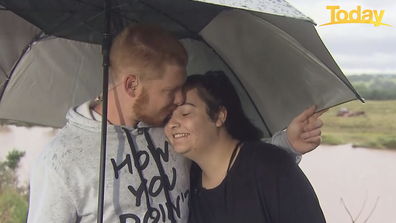 The pair shared an embrace as they spoke to the Today Show this morning.