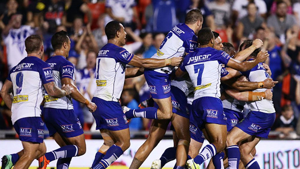 Bulldogs beat Penrith after siren in NRL