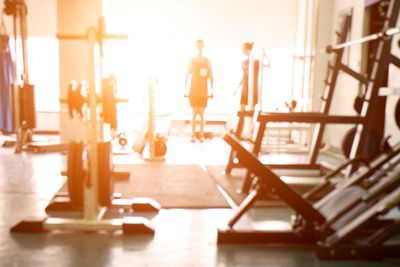 Bright light before and during your workout