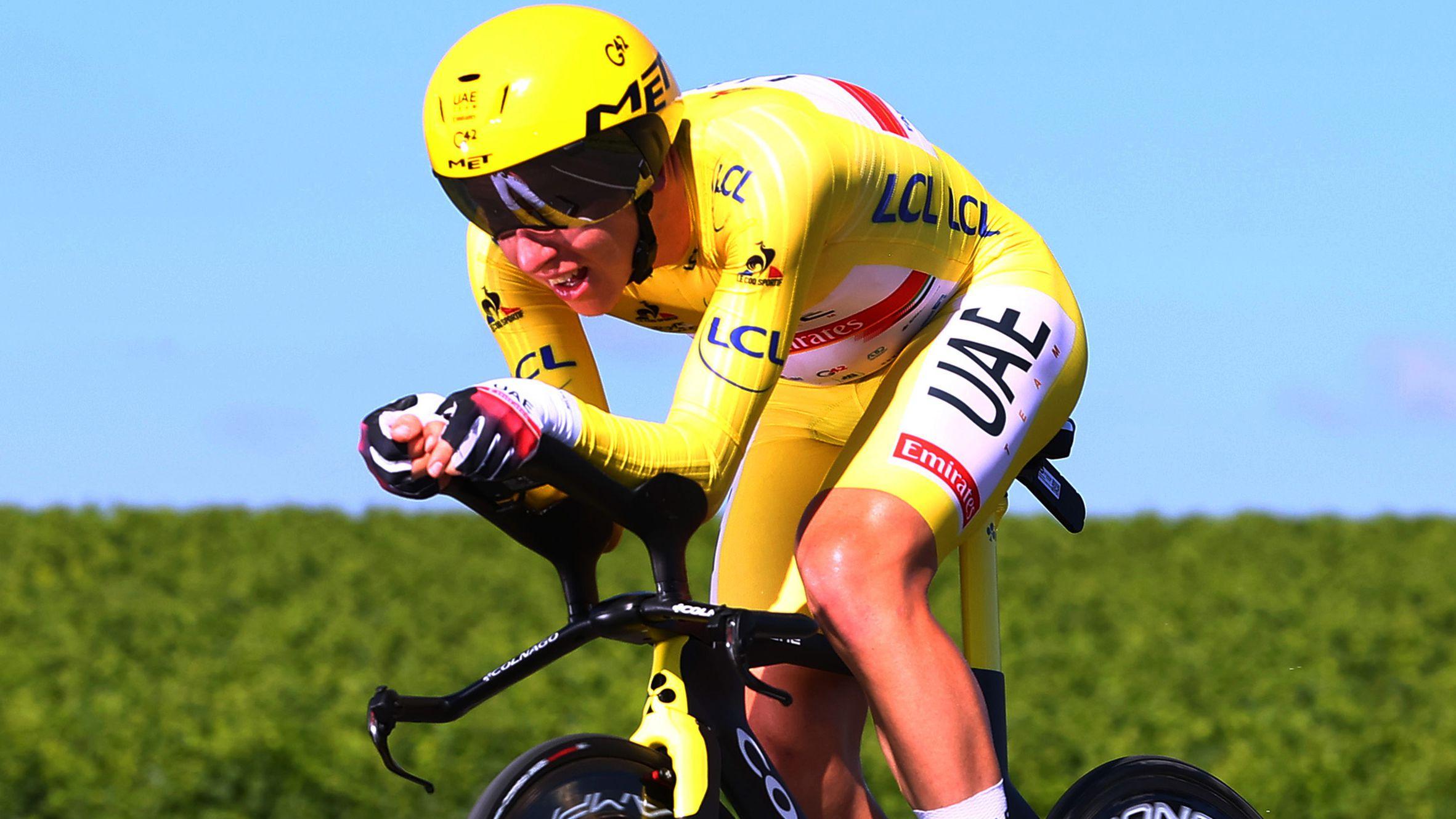 Tadej Pogacar all but seals second consecutive Tour de France title on stage 20