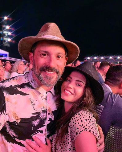 Steve Kazee, Jenna Dewan, festival