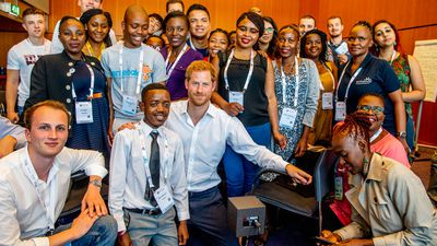 PRINCE HARRY ATTENDS INTERNATIONAL AIDS CONFERENCE