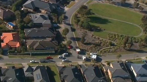 Neighbours have been evacuated from the area. (9NEWS)