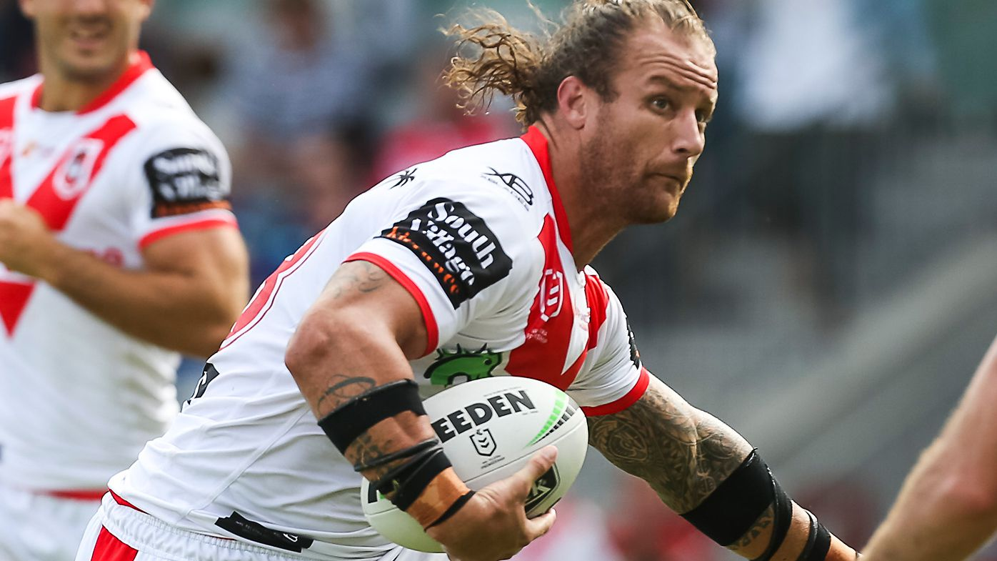 Korbin Sims released by Dragons to make Super League move