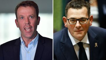 Education Minister Dan Tehan and Victorian Premier Daniel Andrews have clashed over the issue of whether students should return to schools.