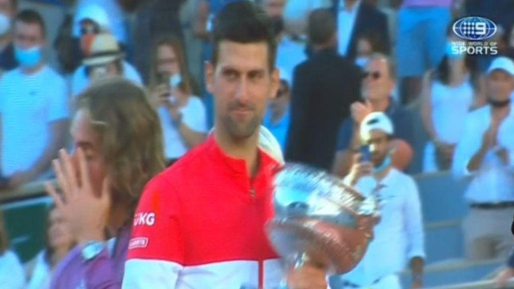 Novak Djokovic's epic comeback over Stefanos Tsitsipas wins second Roland Garros title