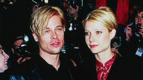 Brad Pitt and Gwyneth Paltrow in a photograph from 1997. (AAP)