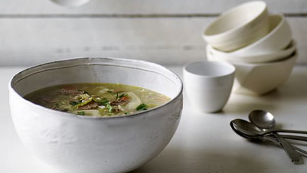 Lamb and pearl barley soup
