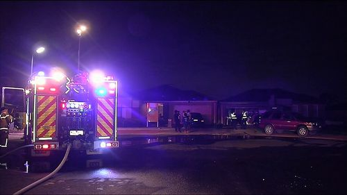 The cause of the fire is unknown but it is understood to not be suspicious. Picture: 9NEWS