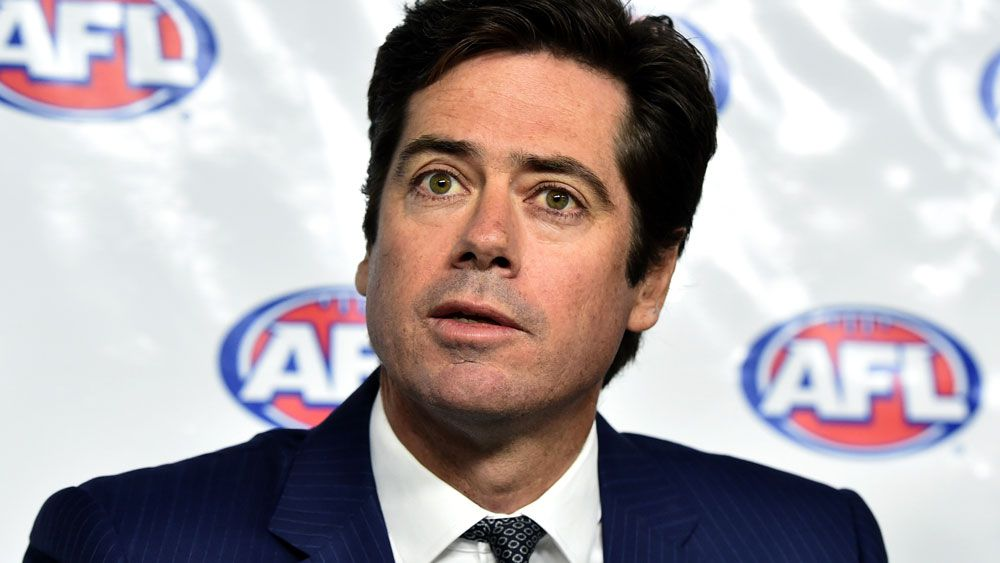 Gillon McLachlan on defence over AFL affairs
