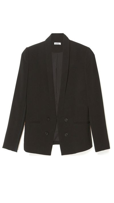 <p>The boxy blazer</p>