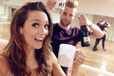 @therickilee: Tonight is PARTY NIGHT! On @dancingau - I can't wait for you to see what I'm wearing!!!