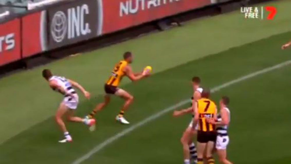 AFL 2017: Hawthorn Hawks star Jack Gunston gives ailing fans reason to smile