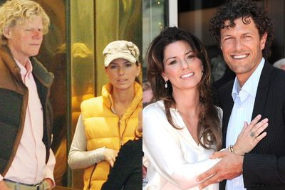 What to do when you've hit a marriage rut? Swap secretaries, of course. Shania Twain and ex-husband Mutt Lange did just that. Mutt had an affair with the couple's secretary…but Shania got pay back, hooking up with her husband's former helper (and looker!), Frederick Thiebaud.