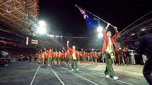 The 2000 Sydney Olympic Games opening ceremony - the last Olympics to be held in Australia.