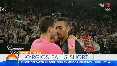 Kyrgios in good head space after Open run