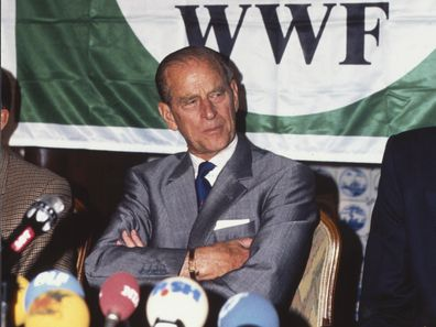 Prince Philip at at WWF event.