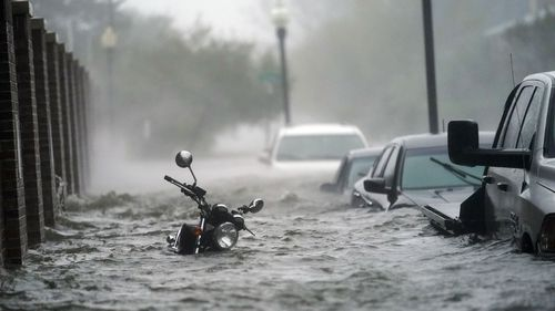 Floodwaters are being measured in feet, not inches, in the Florida panhandle.