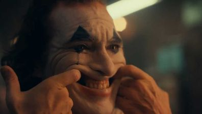 Joaquin Phoenix is unrecognisable as 'The Joker.'