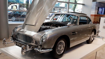 The car is one of just three surviving original examples commissioned, and fitted with MI6 Q specifications.
