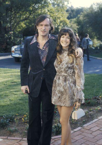 Hugh Hefner, wives and girlfriends, through the years, explainer, Barbi Benton