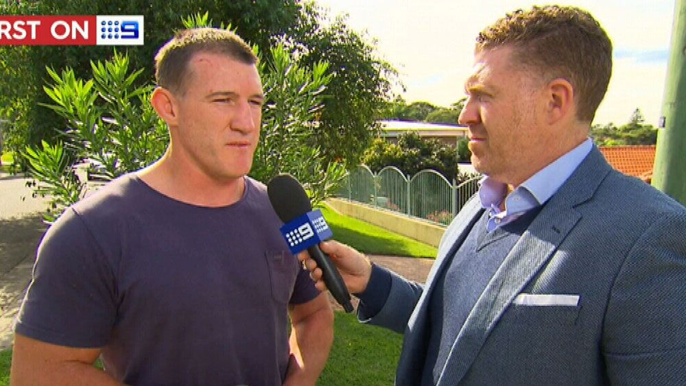 NRL 2017: Cronulla Sharks captain Paul Gallen returns serve on diving claims from Wests Tigers
