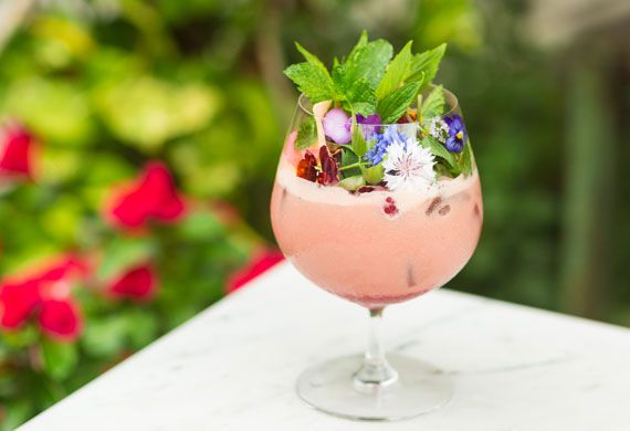 The Grounds' summer romance cocktail
