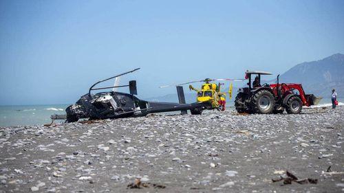 Reports of helicopter crash on Mahia Peninsula