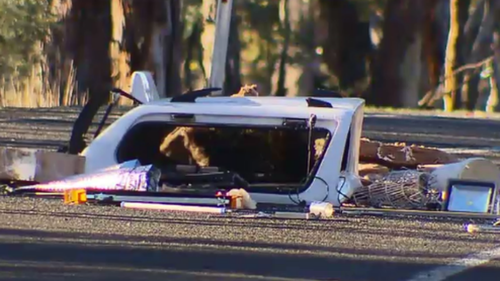 The collision occurred on Sutton Road. (9NEWS)