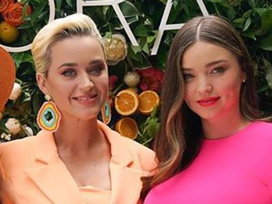 Miranda Kerr, Katy Perry, post, comment, Instagram, back to work, American Idol