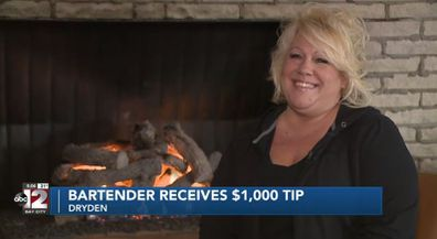 Lapeer County bartender Dawn received $1000 tip from patrons