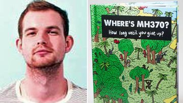 Mathew Carpenter and his Where's Wally-style picture book.