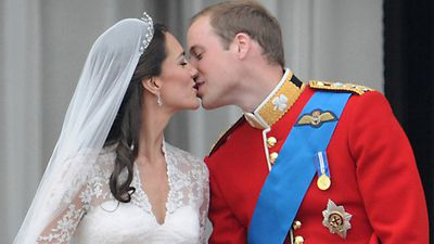 <strong>The Duchess of Cambridge and Prince William, April 2011</strong>