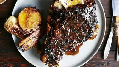 Sam Burke's slow-roasted goat shoulder