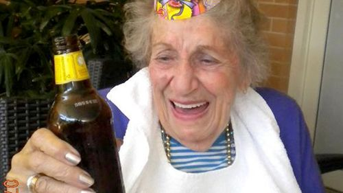 Marie Darragh died at St Andrews Village nursing home, Ballina, May 10, 2014. (Supplied)