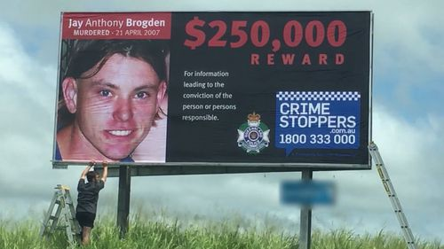 Second man charged over cold case murder of Jay Brogden