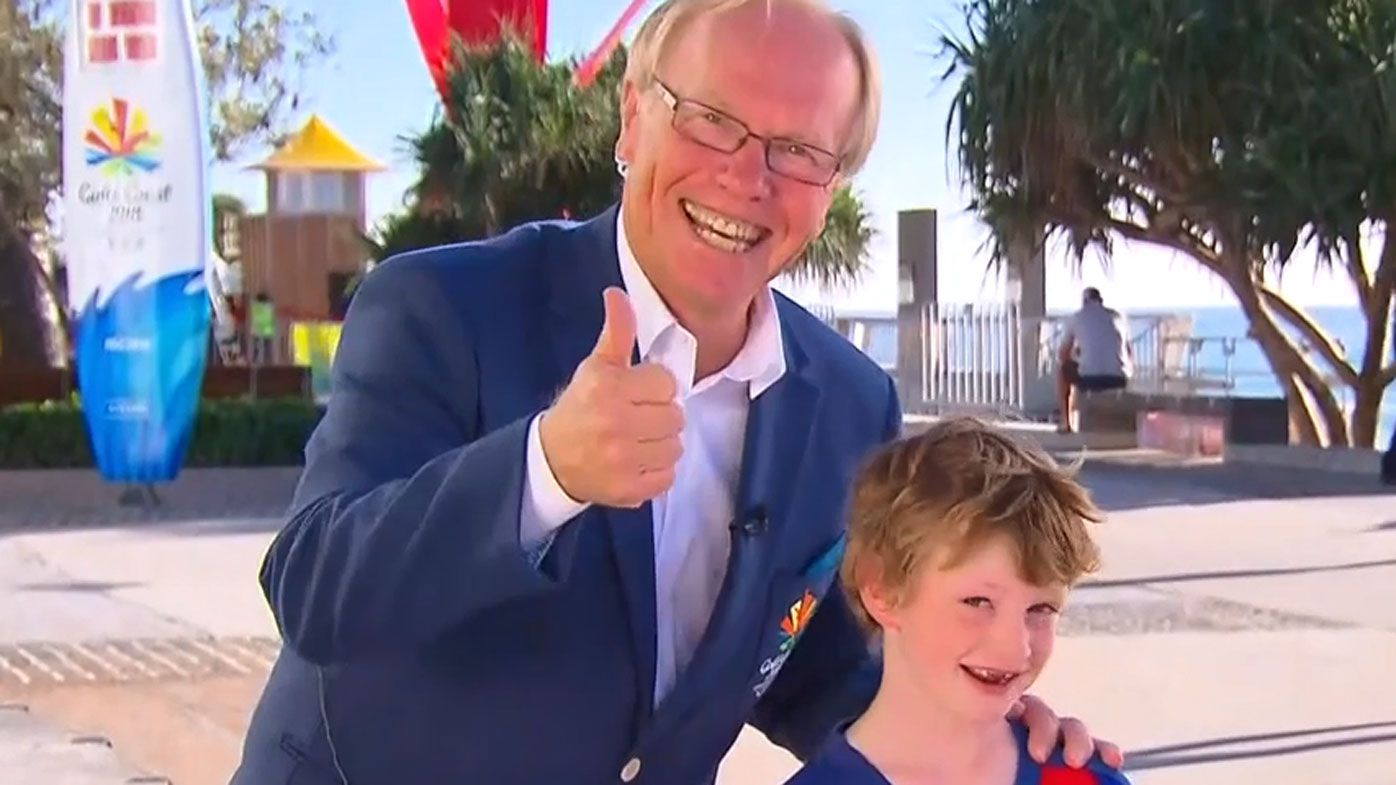 Commonwealth Games and ARLC chairman Peter Beattie makes another sporting gaffe