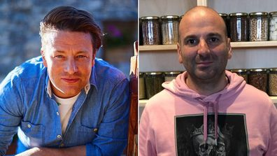 Jamie Oliver and George Calombaris