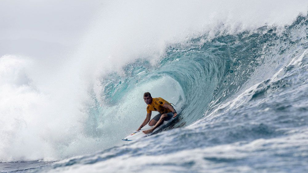 Heat is on Fanning in Hawaiian surf