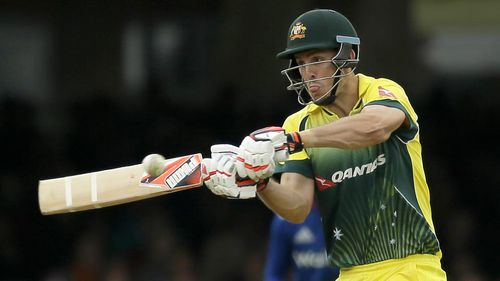 Mitchell Marsh made an aggressive half century. (AAP)