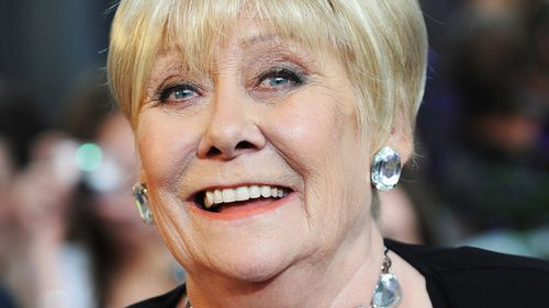 Liz Dawn arrives for the British Soap Awards 2008. (Getty)