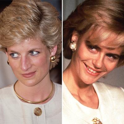 Serena Scott Thomas in Diana: Her True Story